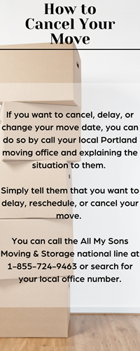 How to Cancel Your Move Infographic
